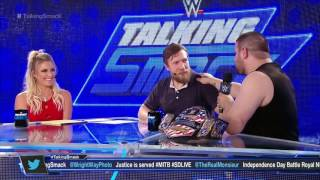 Kevin Owens on Talking Smack ( 27/06/2017 )