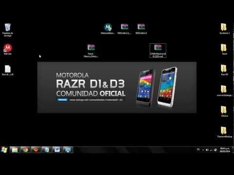 Flashear (Revivir.desbrickear.cambiar Firmware) Razr D1 y D3 En español