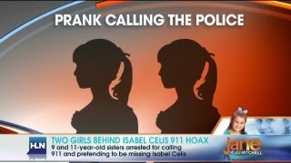 Who was behind fake Isabel Celis 911 calls?