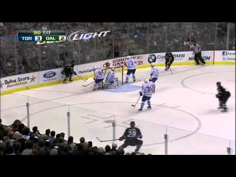 Toronto Maple Leafs @ Dallas Stars Highlights 11/25/11