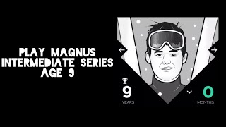 Play Magnus - Intermediate - Beating 9 y/o Magnus w/ Commentary
