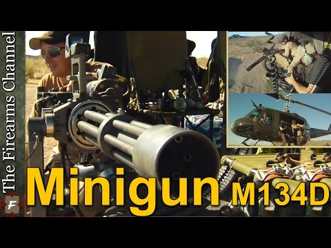 M134 Mini Gun Inside and Out