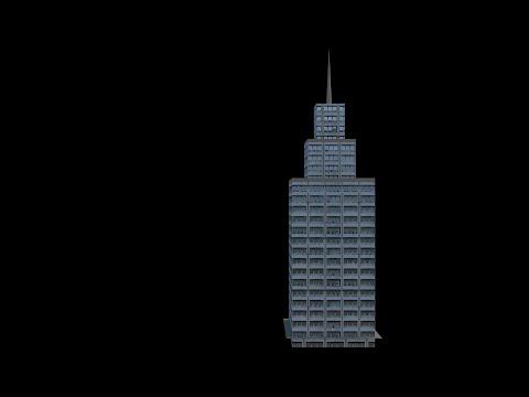 Blender Tutorial: Basic Skyscraper