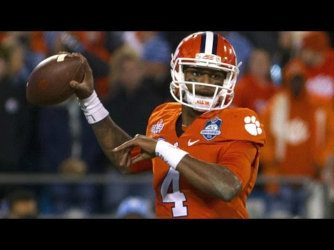 Clemson's Deshaun Watson On Facing Oklahoma's Defense | Orange Bowl Media Day