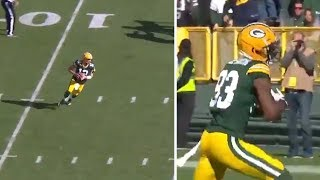 Aaron Rodgers SHOWS Amazing Arm With 59 Yard Pass! #NFL #ESPN #AaronRodgers