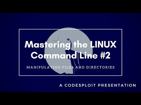 Mastering Linux #2 : Manipulating Files and Directories (Part I)