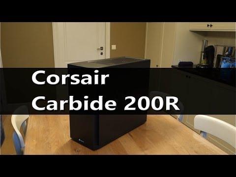 Corsair Carbide 200R unboxing build review