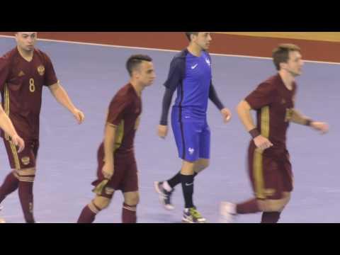 Отбор ЕВРО-18. Группа G. Россия - Франция. 5-0