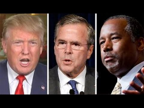 Donald Trump fires back at his Republican opponents