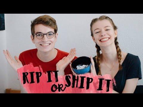 RIP IT or SHIP IT? TAG w/ Raffi's Bookshelf