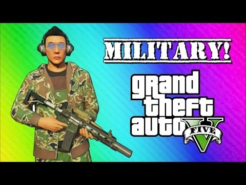GTA 5 Online Military Edition: Operation Smoked Bacon (GTA 5 Online Funny Moments & Skits)