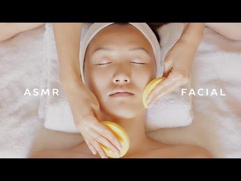 ASMR Facial for Oily Skin ft. Weylie