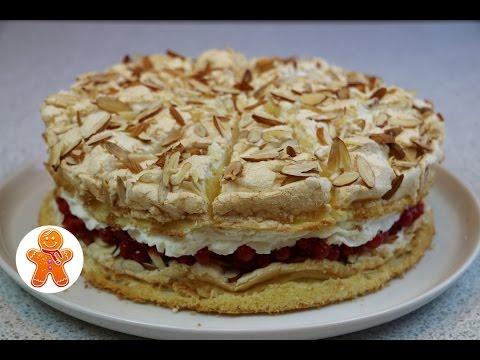 """Торт """"Небесный"""" легкий, воздушный и очень вкусный ✧ Himmelstorte ✧ Heaven Cake (English Subtitles)"""