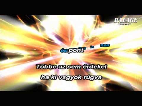 Tankcsapda - Be vagyok rúgva (karaoke)