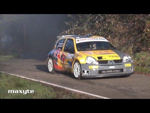 4° Rally Colli del Grignolino -  Uscita di strada e sbandate CRASH