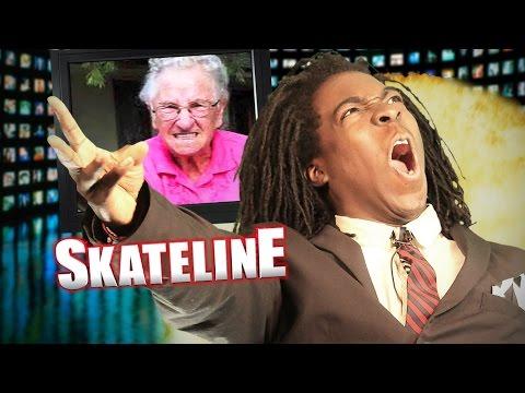 SKATELINE - Chris Cookie Colbourn, Felipe Gustavo On Adidas, Bucky Lasek, Bob Burnquist,