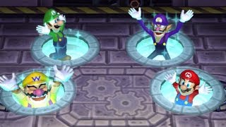 Mario Party 9 - All Funny Minigames