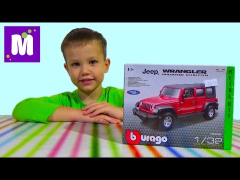 Машинка джип собираем конструктор распаковка игрушки Durango set car jeep designer unpacking toys
