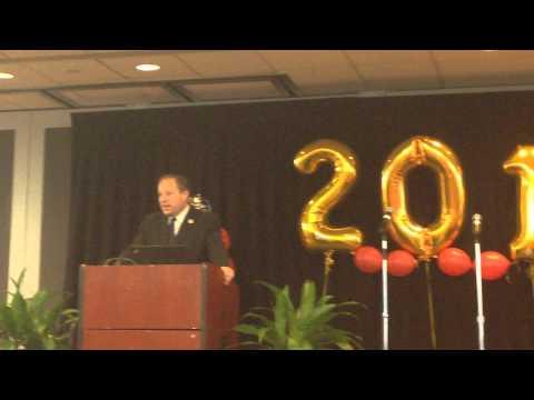 Councilman Lancman Speaking at Queens School of Inquiry Graduation