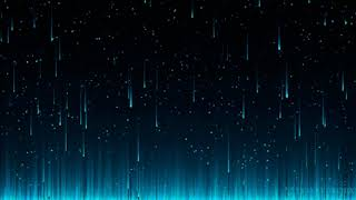 Blue Rain Background Free/Fondo Lluvia Azul Sin Derechos De Autor