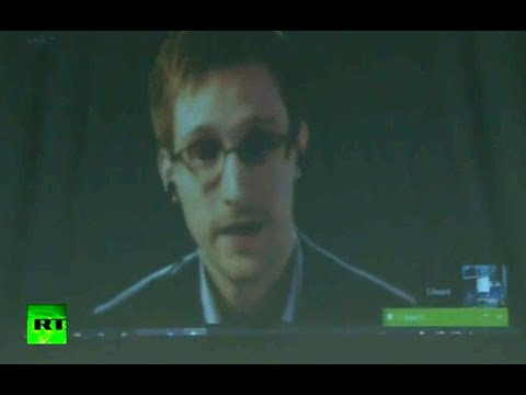 Snowden to EU: No legal means challenge mass surveillance (FULL VIDEO)