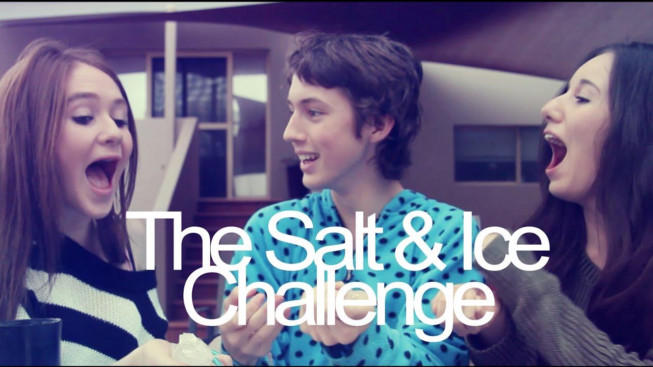 Salt Amp Ice Challenge Win Troye Sivan Youtube