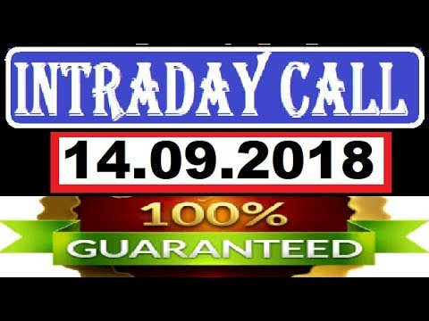 IntraDay Top 3 Jackpot Call 14.009.2018  || today stock || intraday || best stock for 2018