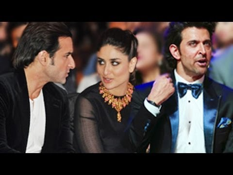 Kareena Kapoor & Hrithik Roshan's Sexual Tension Exposed At Iifa Awards 2014 video