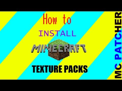 How to install HD texture packs with mcpatcher(MAC OSX)