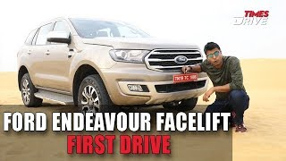 2019 Ford Endeavour Facelift | Specifications, features and more | The Kranti Sambhav Review