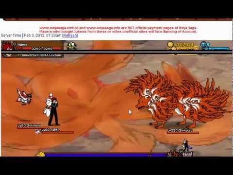 Ninja Saga Nine Tail Beast