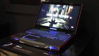 Alienware M17X laptop at CES 2011 - Which first look review