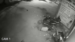 Near Miss Inebriated Bike Collision || ViralHog