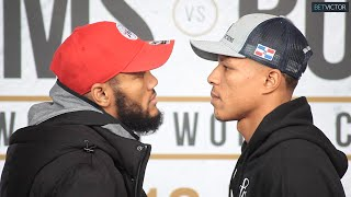 "Julian ""J Rock""  Williams and Jeison Rosario HAVE INTENSE FACE OFF IN PHILADELPHIA I PBC ON FOX"