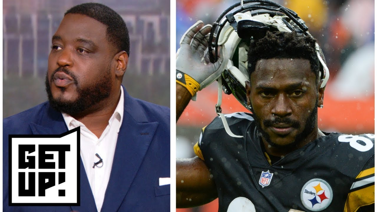 Damien Woody tired of Antonio Brown's 'frontrunner mentality' | Get Up! | ESPN