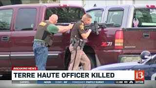 Terre Haute police officer shot and killed