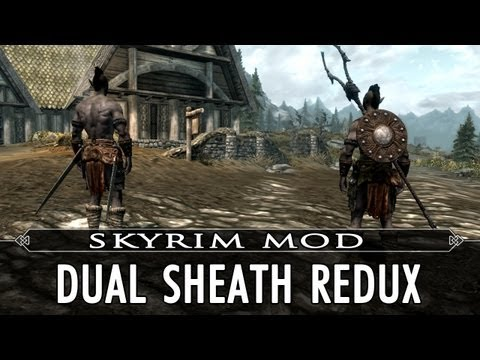 Skyrim Mod Feature: Dual Sheath Redux