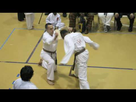 Henry Cho Tournament 2008 -Breaking Board with your Head Video