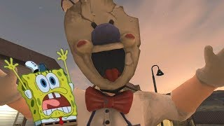 O TERROR DO SORVETEIRO | Bob Esponja no ICE SCREAM