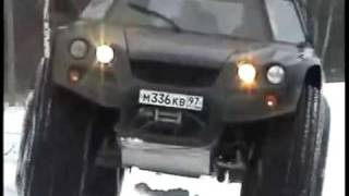 Extreme AMPHIBIOUS Russian offroad vehicle Aton I