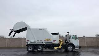 2008 Autocar Heil Rapid Rail 30 Yard Automated Side Loader For Sale