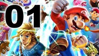 Super Smash Bros. Ultimate - PART 1