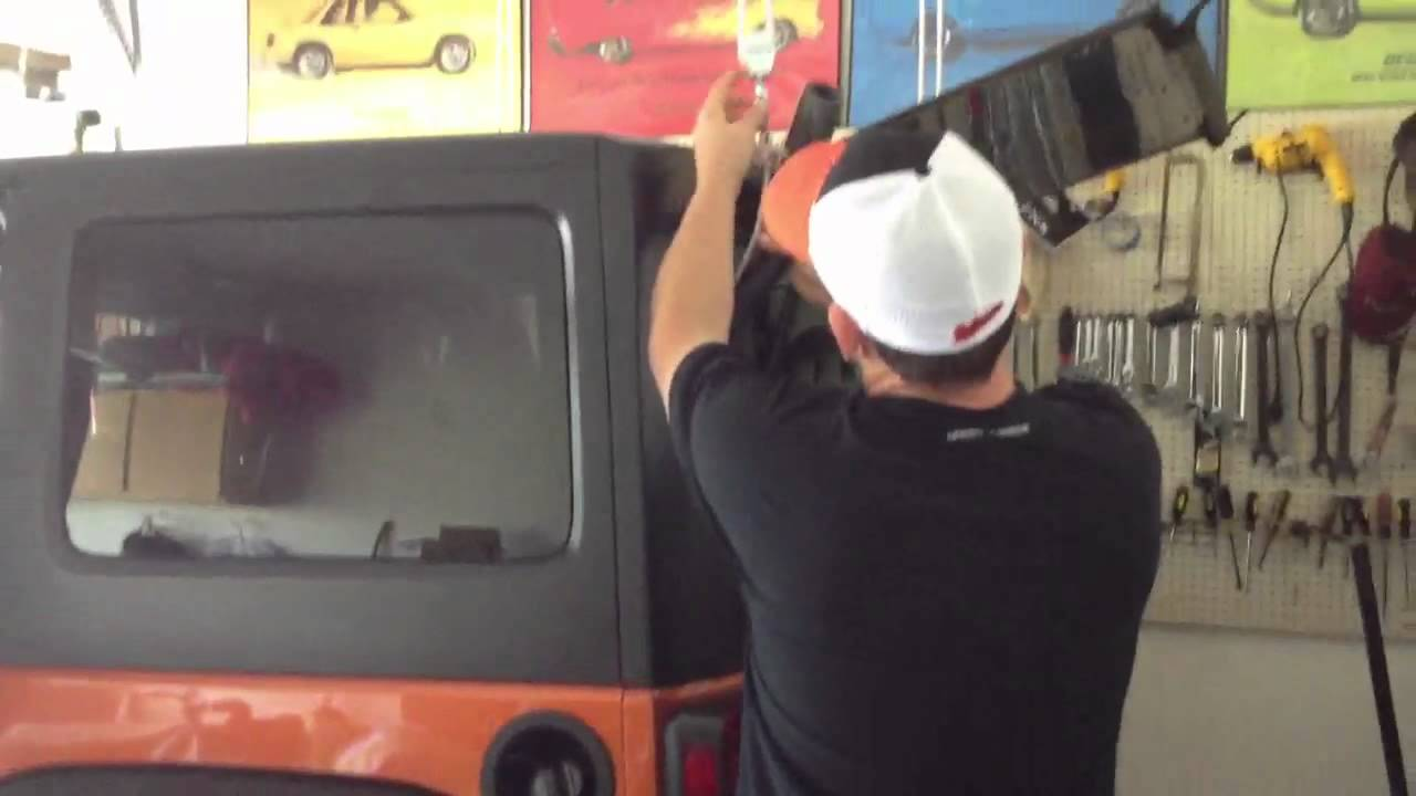 Jeep Pulley Removal Jeep Hard Top Removal Using
