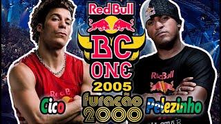 Pelezinho vs. Cico - Red Bull BC One 2005 - V. Furacão 2000