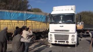 İzmir Bursa sürat yolu'nda kaza