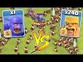 240 BARBARIANS vs 1 BOWLER 😀INSANE BATTLE!!!🔸Clash of clans