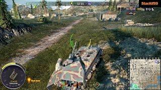 Wot Xbox One/PS4 Waffenträger E 100 6.8k Dmg Radley-Walters & Ace !!!