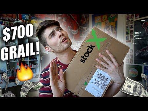 Unboxing My $700 Stock X Grail!! Sneaker Heater!