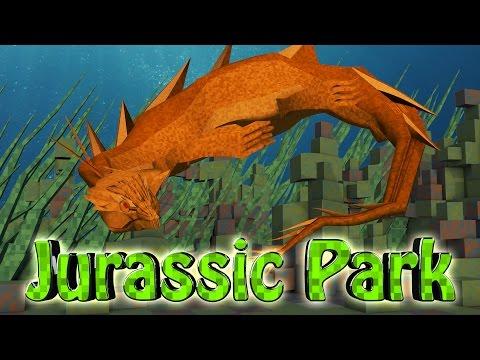 Minecraft Dinosaurs Jurassic Craft Modded Survival Ep 43 NEW SEA MONSTER
