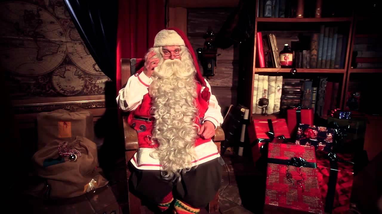 Santa Claus Amp Ikihirsi Log Houses Video Greeting Lapland